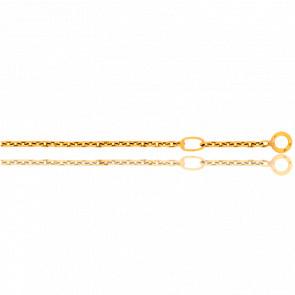 Anilla de ajuste a 5cm, para cadenas de menos de 3g.