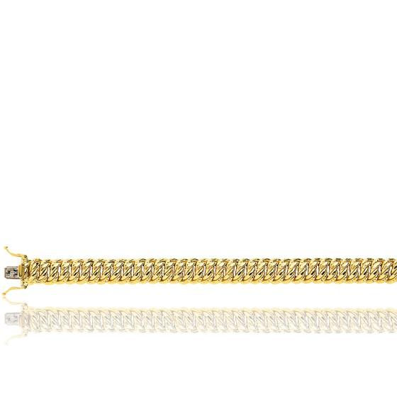 ba25edfec7c0 Pulsera de oro amarillo 18kt Cadena Americana - Manillon - Ocarat