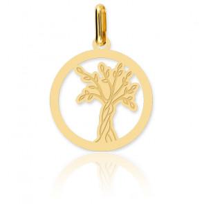 Colgante Árbol de Vida Calado Oro Amarillo 18K
