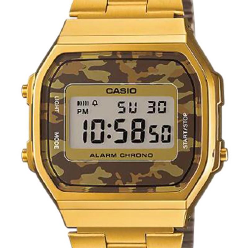 Reloj Casio Vintage Camuflaje Marr 243 N Dorado Ocarat