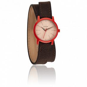 Reloj The Kenzi Wrap Brown / Coral - A403-1655