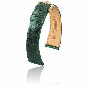 Correa Genuine Cocodrilo Verde - Ancho 19 mm