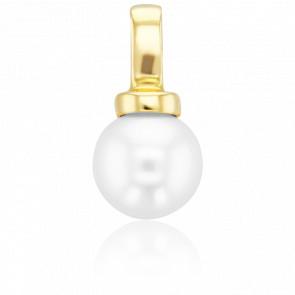 Colgante Perla Blanca Ø8,50-9 mm