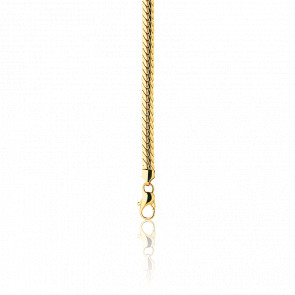 70eefe9022fa Manillon Pulsera cadena inglesa 18cm hueca Oro Amarillo 18k. Pulsera para mujer  cadena inglesa de ...