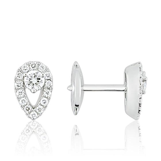 b17e969b3e77 Pendientes Oro Blanco 18K y Diamantes - Ocarat