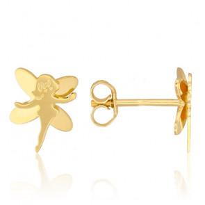 Pendientes Hadas Oro Amarillo