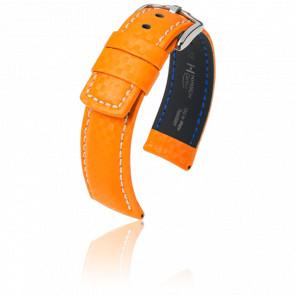 Correa Carbon naranja - Ancho 22 mm