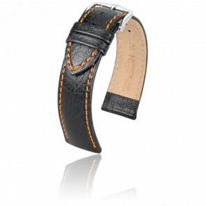 Correa Jumper Negro / Naranja / Silver - Ancho 18 mm