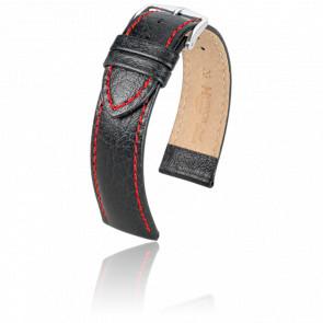 Correa Jumper Negro / Rojo / Silver - Ancho 22 mm