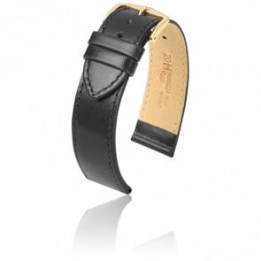 Correa Osiris Negra / Gold - Ancho 18 mm