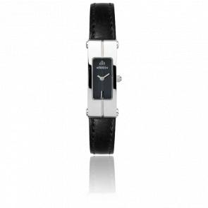 Reloj Lingot Acero Correa Negra 1055/14