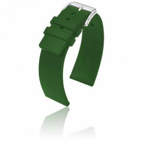 Correa Pure Verde / Silver - Ancho 22 mm