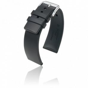 Correa Pure Negro / Silver - Ancho 20 mm