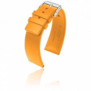 Correa Pure Naranja / Silver - Ancho 20 mm