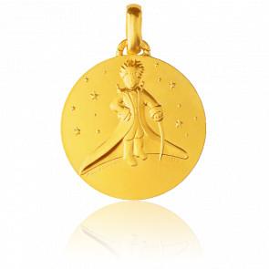 Colgante Principito en las Estrellas Oro Amarillo 18K
