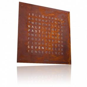 Reloj Qlocktwo Creators Edition - Óxido - 45 cm
