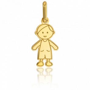 Colgante Niño Modelo Pequeño Oro Amarillo 18kt