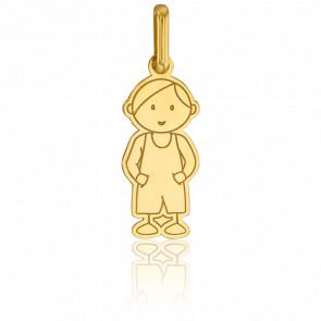 Colgante Niño Modelo Grande Oro Amarillo 18kt