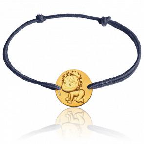 Pulsera Medalla Blagueur Oro Amarillo 9K