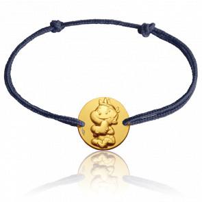 Pulsera Medalla Rêveur Oro Amarillo 9 quilates
