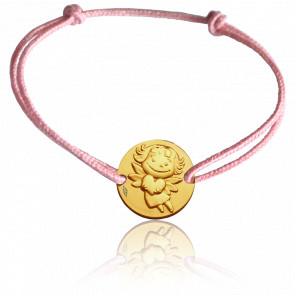 Pulsera Medalla Précieuse Oro Amarillo 9 quilates