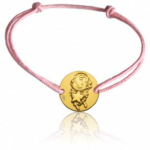 Pulsera Medalla Maline Oro Amarillo 9k