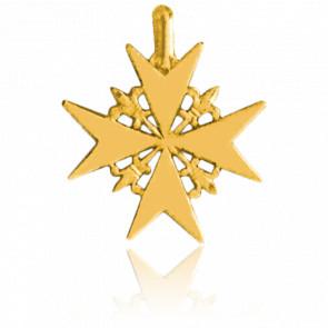 Cruz de Malta 25 x 25 mm Oro Amarillo 18K