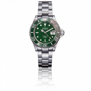 Reloj Ternos Diver Ceramic Green Automático