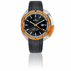 Reloj Hydro-Sub Quartz Orange Caucho