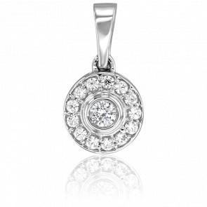 Colgante Princesse Oro Blanco 18K & Diamantes