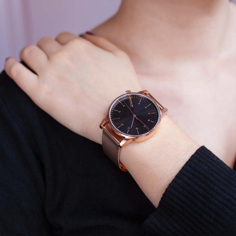 0c51ef8f57e0 Reloj Komono Winston Royal - Rose Gold Black - Ocarat