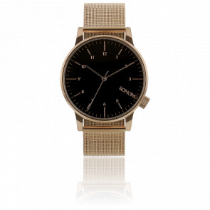 Reloj Winston Royal - Rose Gold Black