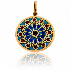 Medalla Vidriera Estrasburgo Oro Amarillo 18K