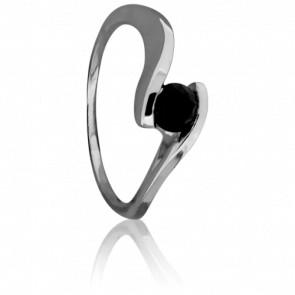 Anillo Apesanteur Oro y Diamante negro 0,50ct