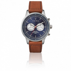 Reloj Blue Steel Nevil (Brown Strap)