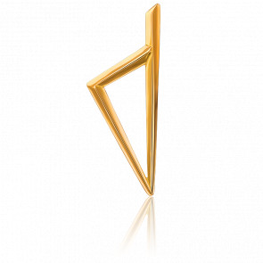 Colgante Córcega Triangular 40 x 15 mm Oro Amarillo