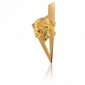 Colgante Oro Amarillo 25 x 10 mm Córcega