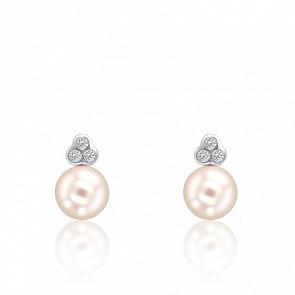 0d72e1266992 Argyor Pendientes Gisela Diamantes   Perla 8