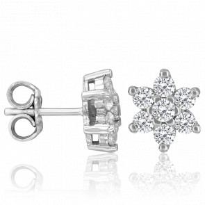 Pendientes Ariella Diamantes 0,87 ct & Oro
