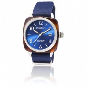 Reloj Clubmaster HMS Fecha Tortoise Azul