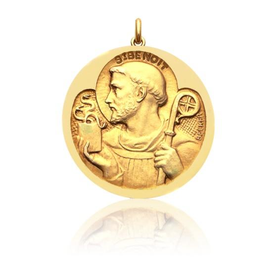 362a8736c55 Medalla San Benito Oro amarillo - Ocarat