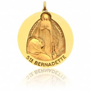 Medalla Santa Bernadette en Éxtasis