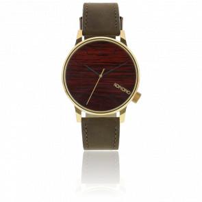 Reloj Winston Gold Wood