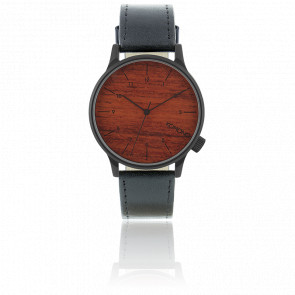 Reloj Winston Black Wood