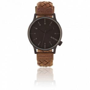 Reloj Winston Woven Chestnut