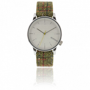 Reloj Winston Tweed Green