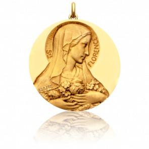 Medalla Santa Florencia