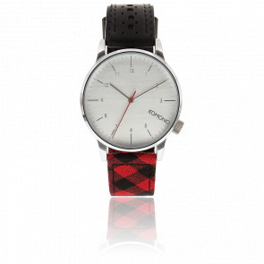 Reloj Winston Galore Jet Black / Woodsman