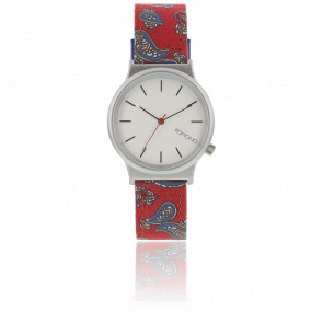 Reloj Wizard Print Series Red Paisley