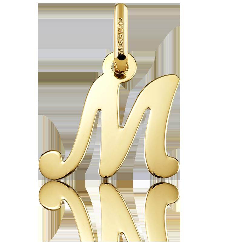 8f938d2acbf6 Colgante de Oro Amarillo 18kt Letra M - Argyor - Ocarat